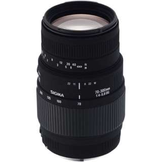 Sigma 70-300mm f/4-5.6 DG Macro Lens for Canon and Nikon