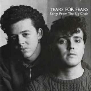 arthcd TEARS FOR FEARS Songs From The Big Chair CD + 7 Bonus Tracks - include B-Sides, Shout (US Remix) and Mother's Talk (US Remix)