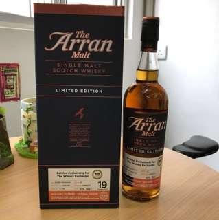 Arran 19yo 1997 / 2016 special edition, 700 ml / 45.9%