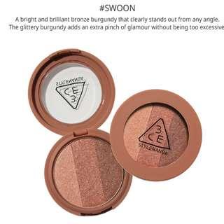 3CE Triple Eyeshadow Swoon