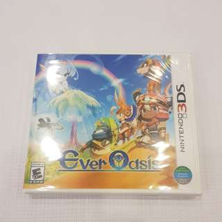 3DS Ever Oasis game