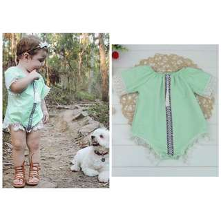 Romper Tassle Clothes outfit
