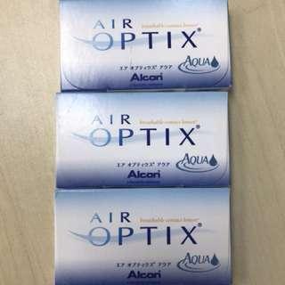 (BNIB) air optix contact lens (-3.75 pwr)
