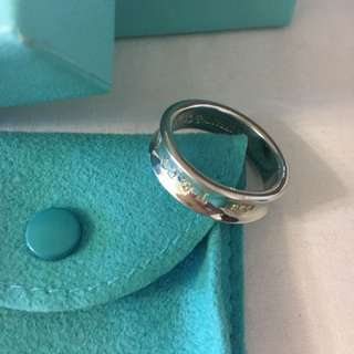 Tiffany & Co Silver Ring Authentic Size 25