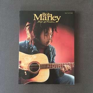 BN Bob Marley piano Guitar Music Score