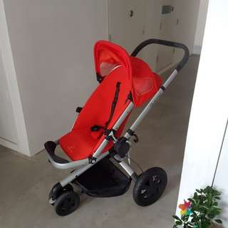 Quinny Buzz Red Stroller