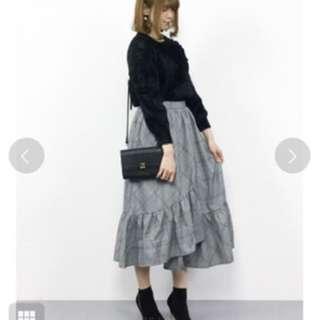 ViS 日本 品牌 針織 立體花袖 上衣 nice claup mysty woman majestic legon haupia franche lippee