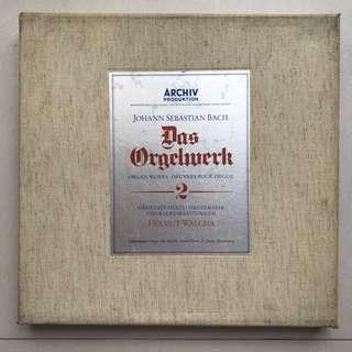 Bach Organ Works Helmut Walcha Archiv 2722003 7-LP box set