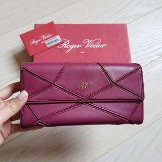 Roger Vivier Long Wallet (90%new) (100%real)