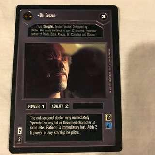 Star Wars CCG Dark Side Rare Cards Set 3