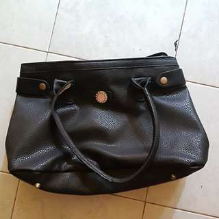 Outdoor Black Shoulder Bag