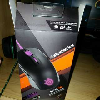 steelseries rival100rgb有盒