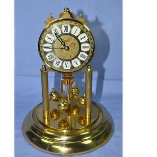 ANTIQUE VINTAGE HALLER GERMANY MECHANICAL ANNIVERSARY CLOCK