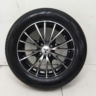 15 '' Original Mitsubshi Sport Rim With Tyre 4x100 (SR890)