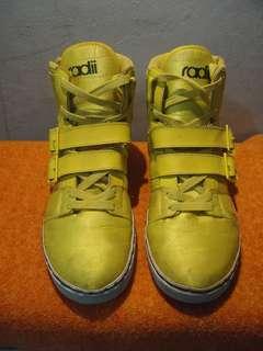 RADII yellow boots KOREA STYLE