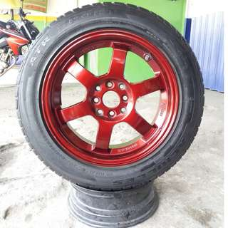 velg racing TE37 R16