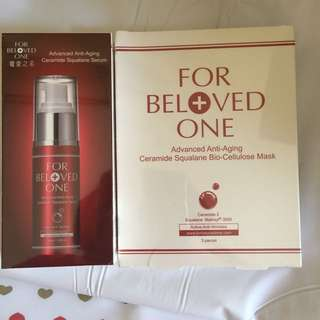 For Beloved One Advanced Anti-Aging Ceramide Squalane Serum Mask