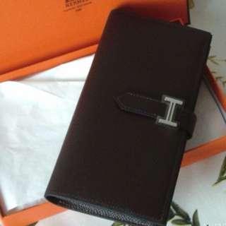 Hermès wallet Bearn