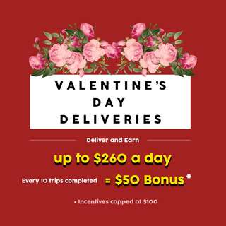 URGENT: Valentine's Day Delivery Heroes Wanted!