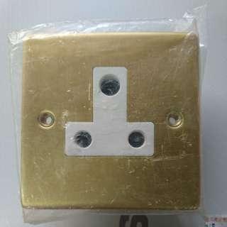 15A 電鍍鋁 插座