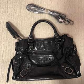 Balenciaga style mini size city bag