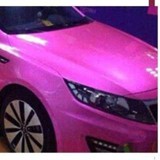Glittering Sticker Wrap - Silent Wrap @car service