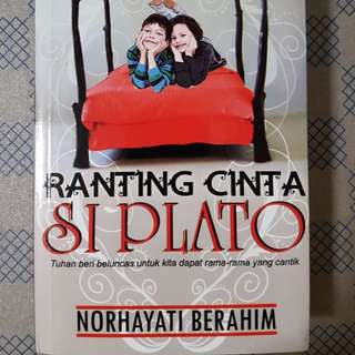 Malay Novel - Ranting Cinta Si Plato