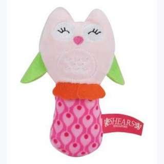 Baby squeaker toy (owl)