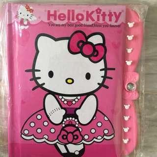 Hello kitty notebook pin