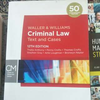 Criminal law textbook