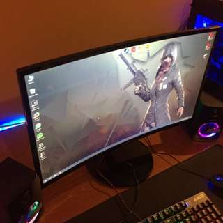"""27""""inch Samsung Curved Monitor"""