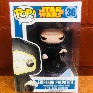 Funko POP! Star Wars Emperor Palpatine #36