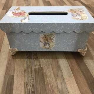 Vintage Shabby Tissue Box