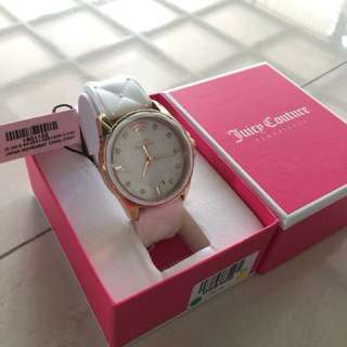 Juicy Couture, Stella, Women's Watch, Stainless Steel Rose Gold Ion Plated Case, Silicone Strap, Japanese Quartz (Battery-Powered), 1901102 {100% authentic}