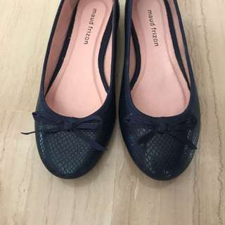 BN Maud frizon ballet flats navy blue / women shoes