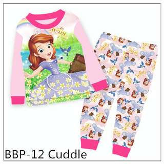 Sofia The First Long Sleeve Pajamas BBP12