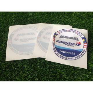 Malaysia Airlines Car Sticker (glass)