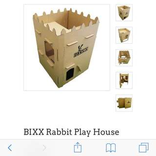 BIXX: RABBIT PLAY HOUSE CASTLE