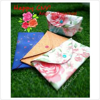 CNY AngPao Envelope Fabric Organiser
