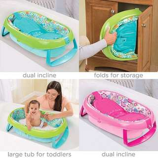 Baby bath tub (green)