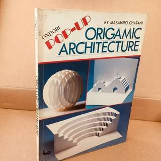 Book - Pop-Up Origamic Architecture