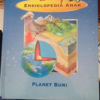 Ensiklopedia Anak Disney Planet Bumi Garage Sale