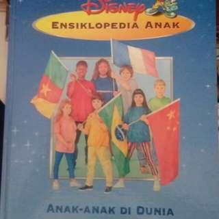 Buku Ensiklopedia Disney Anak di Bumi Garage Sale