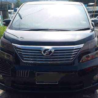SAMBUNG BAYAR/CONTINUE LOAN  TOYOTA VELLFIRE 2.4 YEAR 2010 / 2015 MONTHLY RM 1800 BALANCE 6 YEARS + ROADTAX VALID 8 SEATERS SUNROOF MOONROOF POWER DOOR  DP KLIK wasap.my/60133524312/vellfire