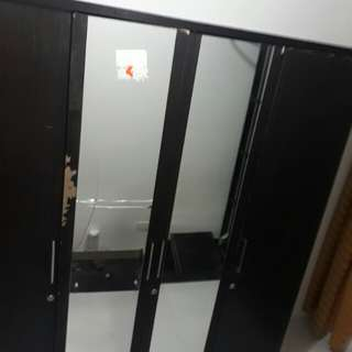 Wardrobe laminated wood