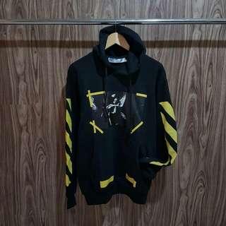 Hoodie / Sweater / Jaket Off White Caravaggio diagonal