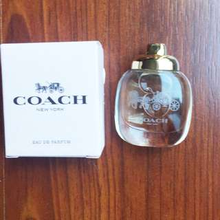 Coach Deluxe Mini Womens Perfume, EDP, 4 ml (Brand New)