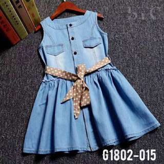 [READY STOCK]  🌸 Denim Dress