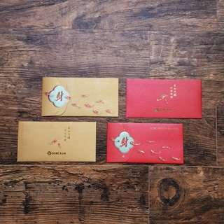 OCBC Premier Bank Ang Pao (Red Packet) Chinese New Year CNY - 2018