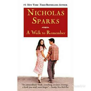 [EBOOK] A Walk To Remember by Nicholas Sparks